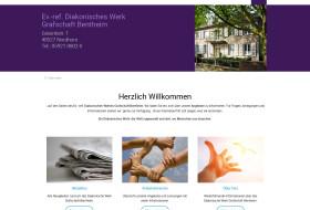 Website für das Diakonische Werk