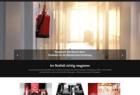 Produktwebsite Brandschutzerziehung