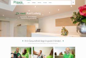 Website für Hausarzt aus Bad Bentheim