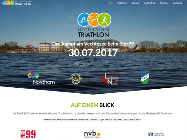 Nordhorner Triathlon rund um den Vechtesee